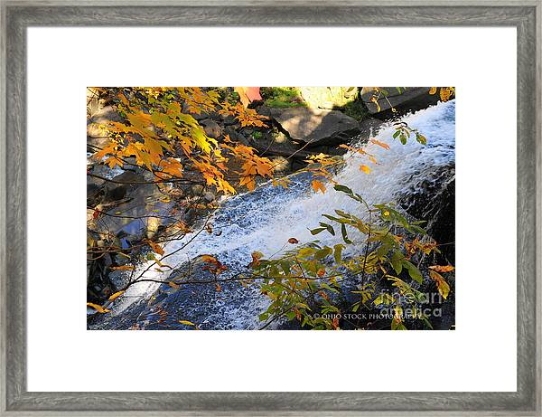 D30a-18 Brandywine Falls Photo Framed Print