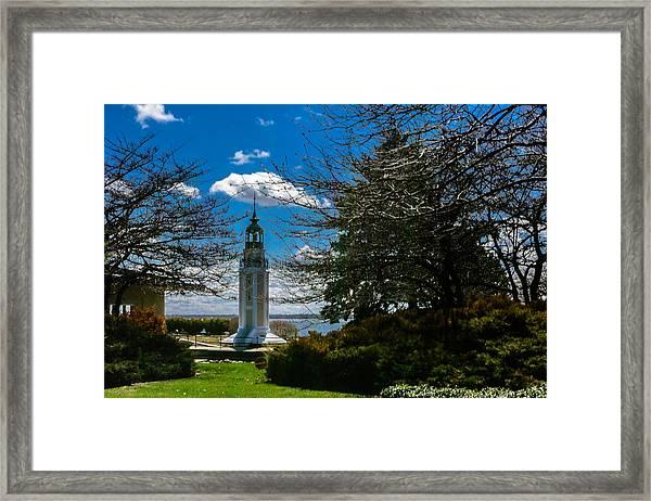 Bray's Point Lighthouse Framed Print