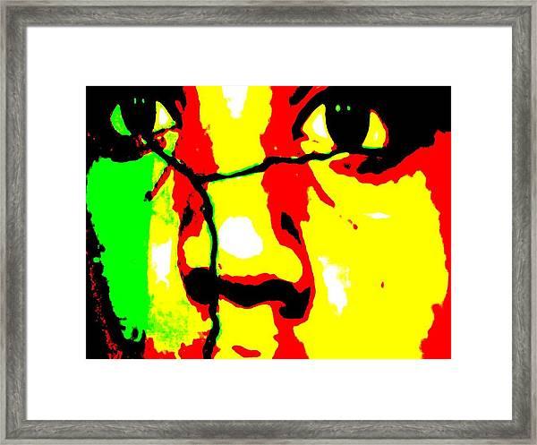 Break The Silence Framed Print by Fania Simon