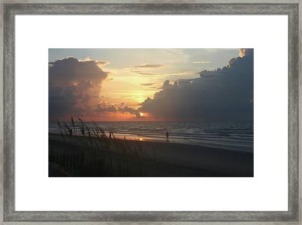 Breaking Dawn Framed Print