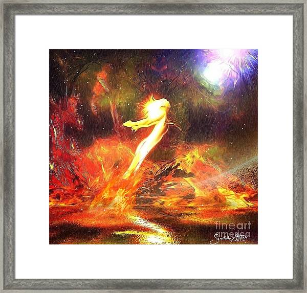 Breaking Free From The Past Framed Print