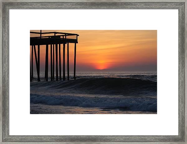 Breaking Sunrise Framed Print