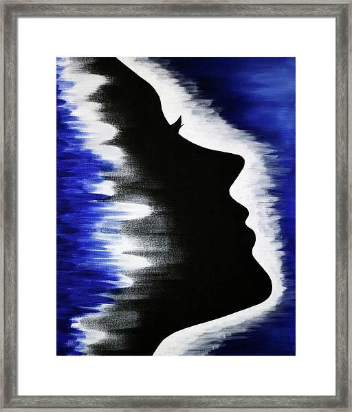 Breaking Through Framed Print