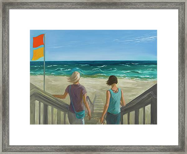Breeze Framed Print