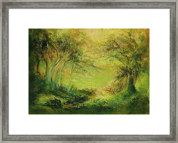 Breezy Afternoon Framed Print by Aneta  Berghane