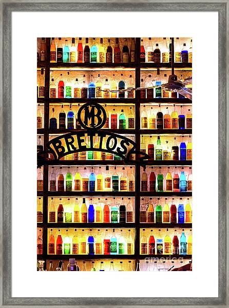 Brettos Bar In Athens, Greece - The Oldest Distillery In Athens Framed Print