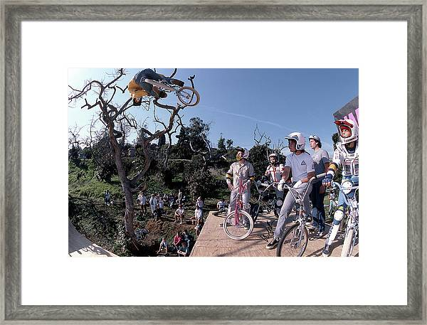 Brian Blyther Enchanted Ramp Framed Print