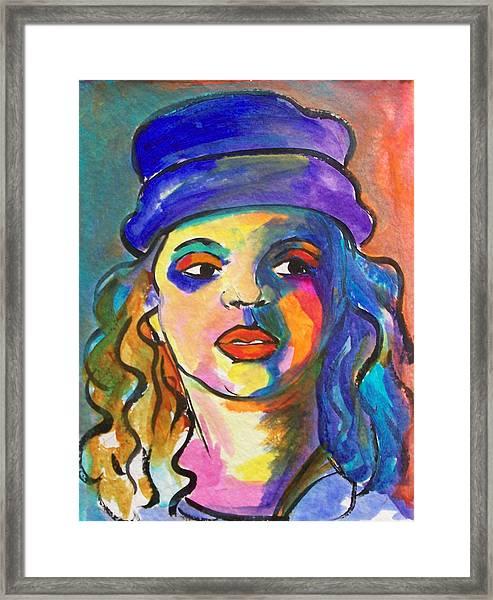 Brianna Framed Print