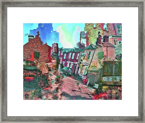 Bricks And Mortar Framed Print