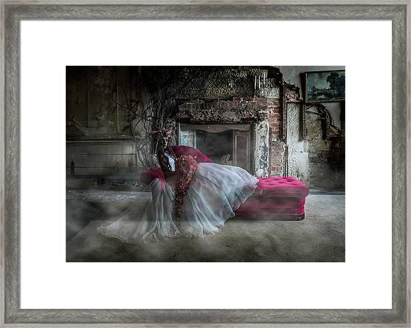 Bridal Ghost Framed Print