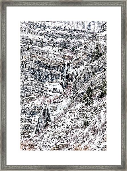 Bridal Veil Falls Canvas Print,photographic Print,art Print,framed Print,greeting Card,iphone Case,s Framed Print