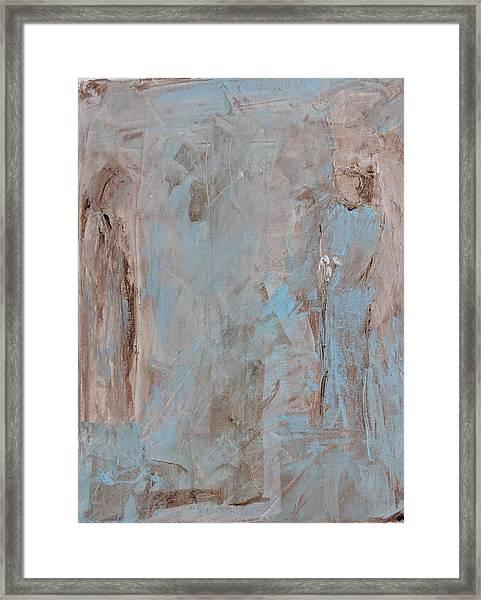 Bride Angel/ Blessed Mother Framed Print