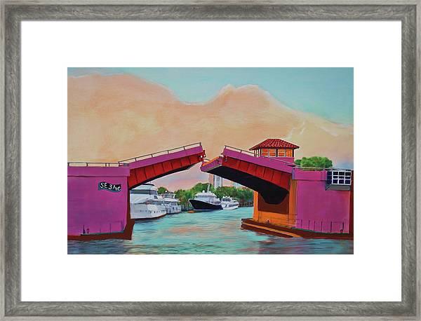 Bridge At Se 3rd Framed Print