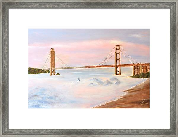 Bridge Framed Print by C H
