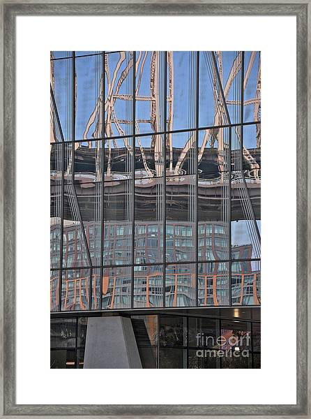 Bridge In Layers Framed Print by Andrea Simon