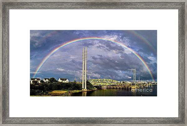 Bridge Of Hope Framed Print