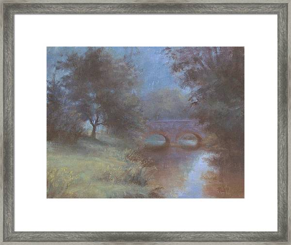 Bridge Out Of Time Framed Print