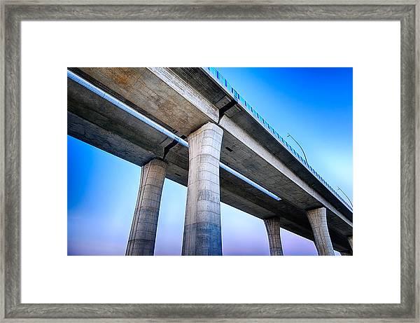 Bridge To The Heaven Framed Print