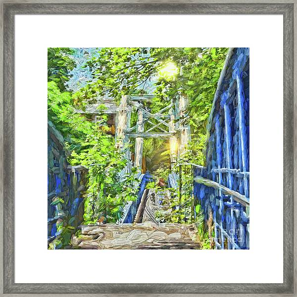 Bridge To Your Dreams Framed Print