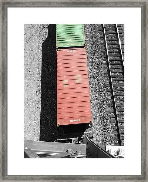 Bridge View Framed Print