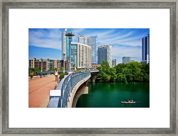 Bridge With A View Framed Print