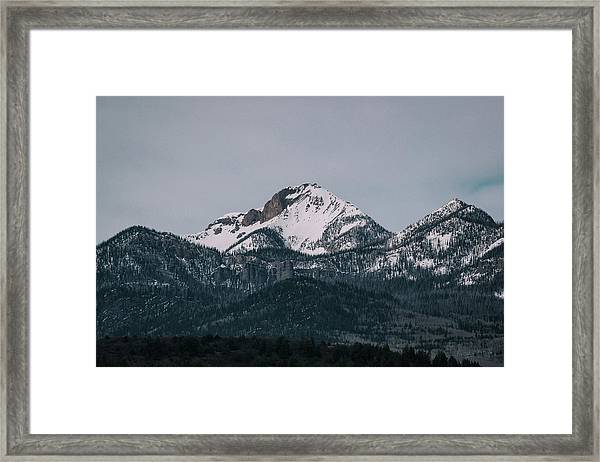 Brief Luminance Framed Print
