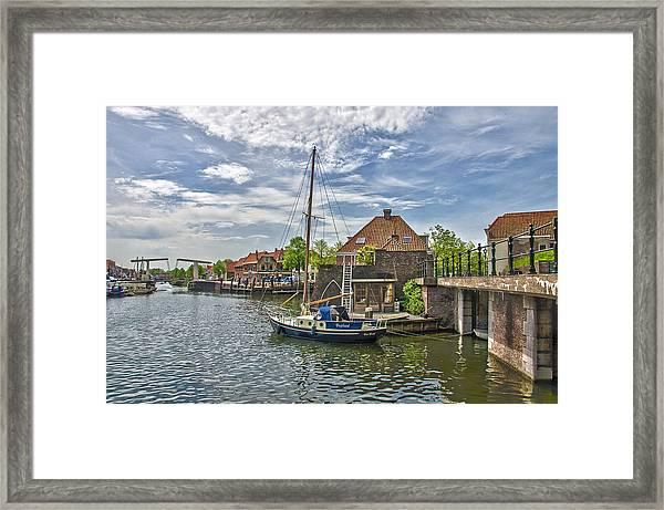 Brielle Harbour Framed Print