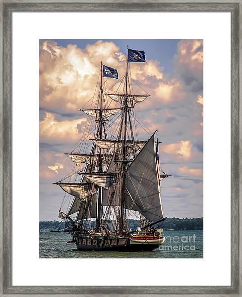 Brig Niagara I Framed Print