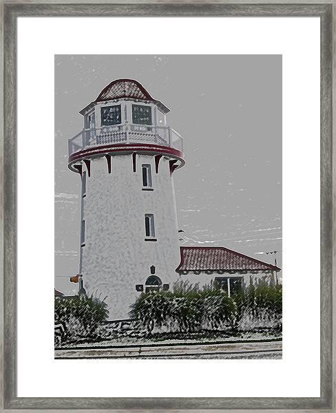 Brigantine Lighthouse Framed Print