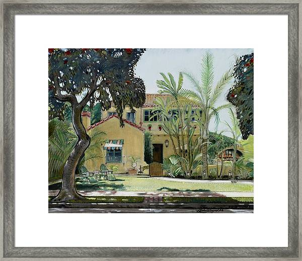 Bright And Sunny Framed Print