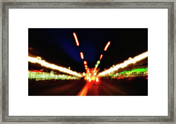 Bright Lights Framed Print