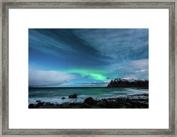 Bright Night Framed Print