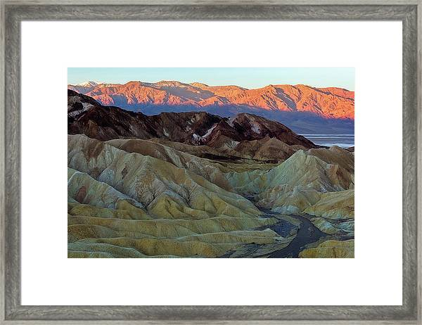 Brilliant And Subdued Framed Print