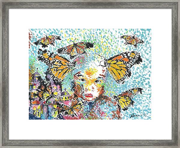 Bring Her Home Safely, Morelia- Sombra De Arreguin Framed Print