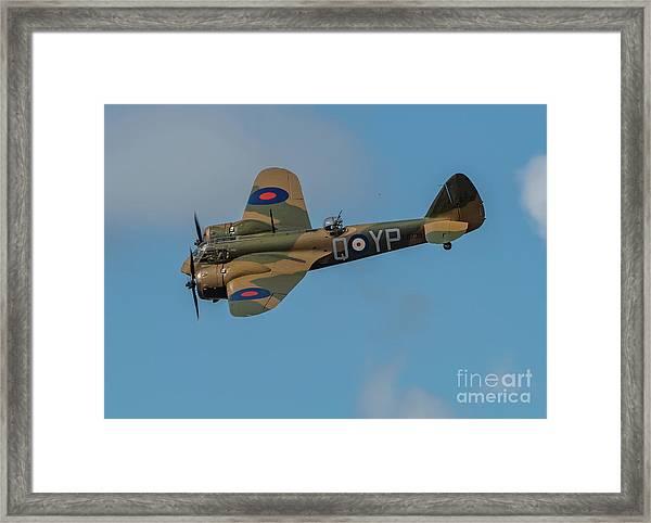 Bristol Blenheim Mk.1 Framed Print