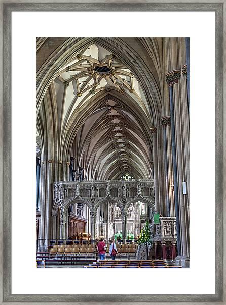 Bristol Cathedral Framed Print