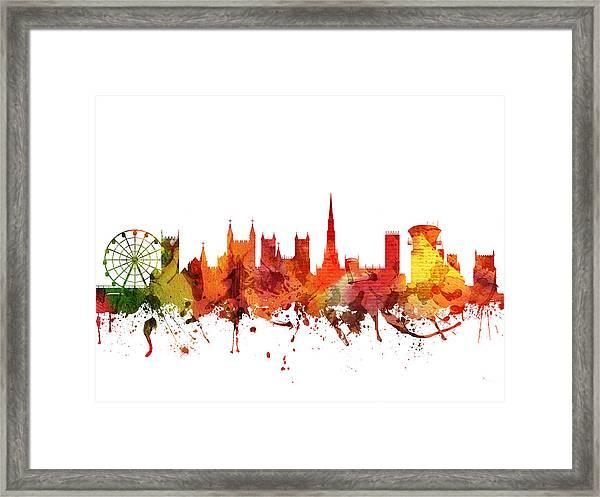 Bristol Cityscape 04 Framed Print