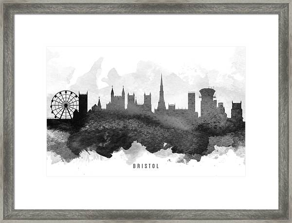 Bristol Cityscape 11 Framed Print