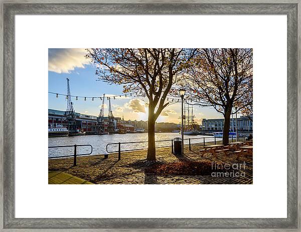 Bristol Harbour Framed Print