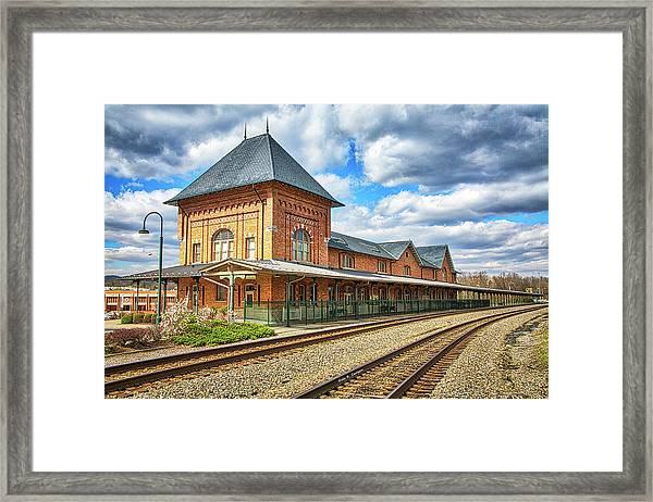 Bristol Train Station Framed Print
