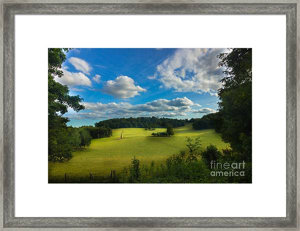 British Countryside Framed Print