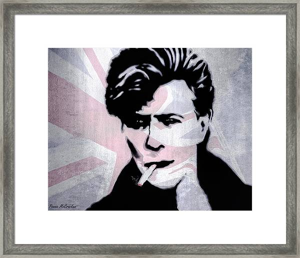 British Rock Framed Print