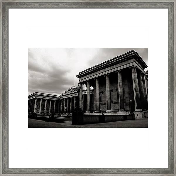 #britishmuseum #london #thisislondon Framed Print