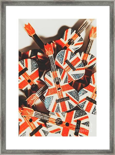 Britpop Nostalgia Framed Print