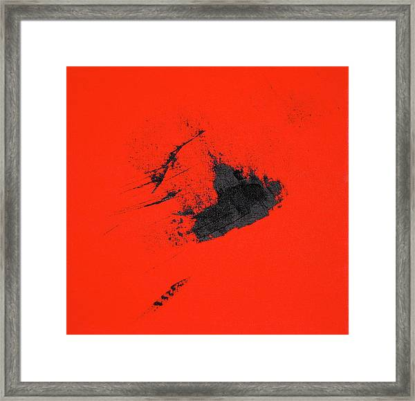 Framed Print featuring the painting Broken Heart by Michael Lucarelli