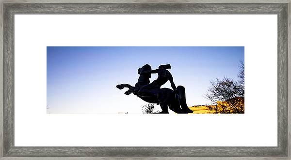 Bronco Framed Print
