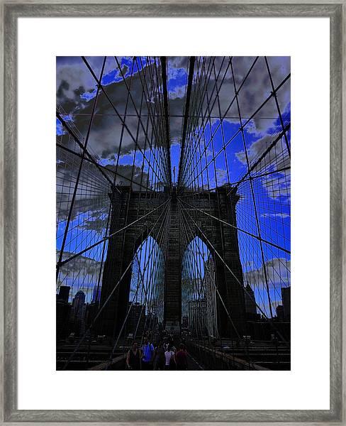 Brooklyn Bridge Framed Print