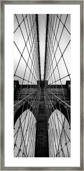 Brooklyn's Web Framed Print