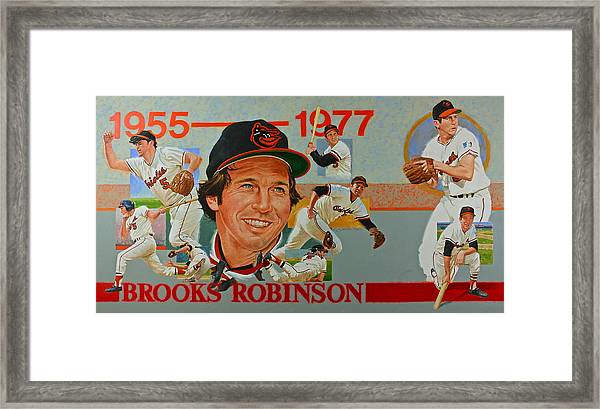 Brooks Robinson Framed Print