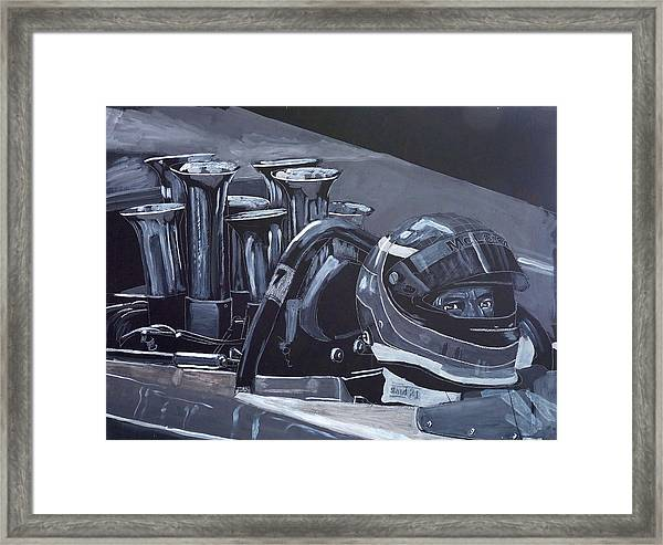 Bruce Mclaren Canam Framed Print